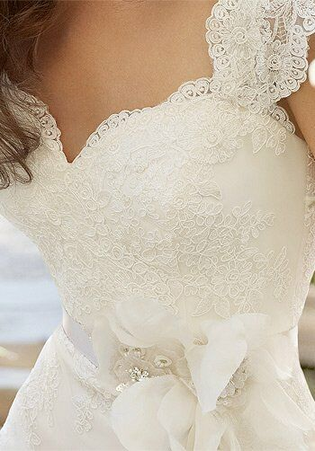 Tara Keely by Lazaro 2201 A-Line Wedding Dress