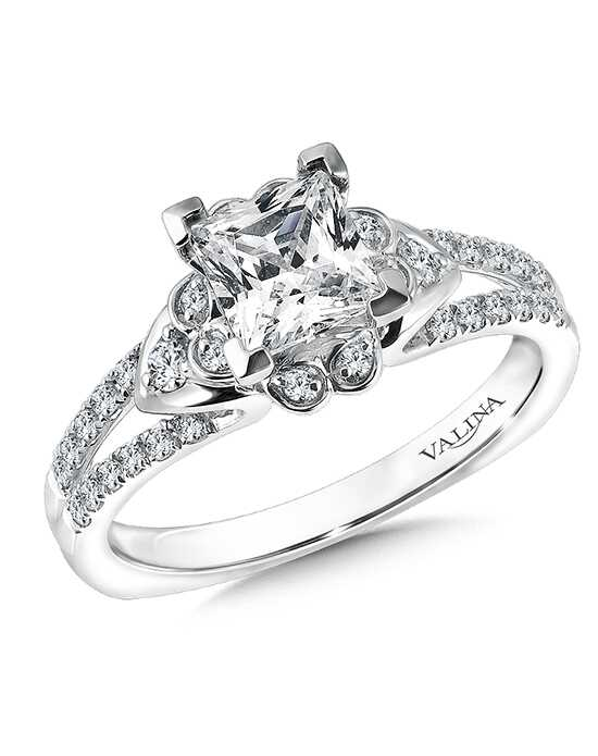 Valina Glamorous Princess Cut Engagement Ring