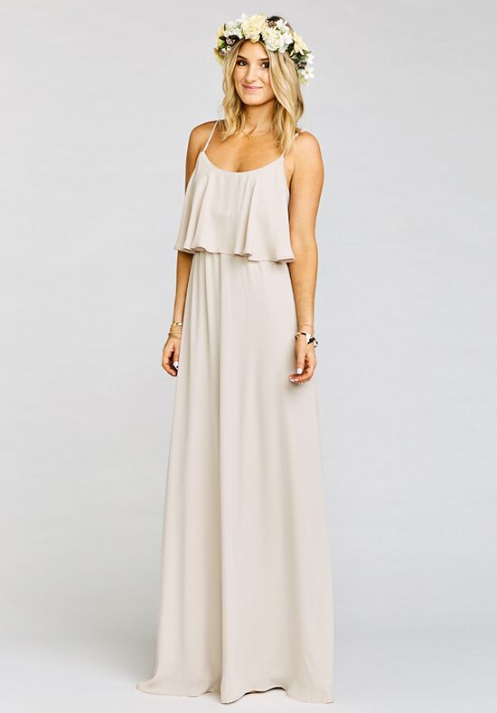 Show Me Your Mumu Caitlin Ruffle Maxi Dress Show Me The