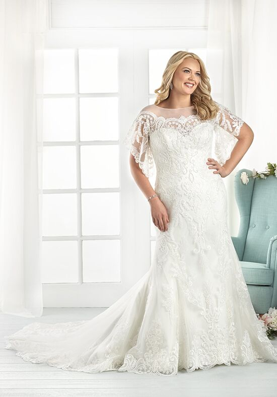 Unforgettable by Bonny Bridal 1809 Mermaid Wedding Dress