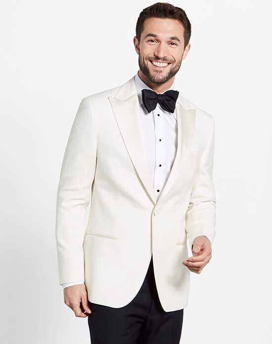 The Black Tux White Jacket Tuxedo Wedding Tuxedos + Suit photo