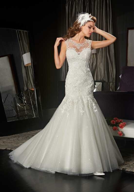1 Wedding by Mary's Bridal 6435 Mermaid Wedding Dress