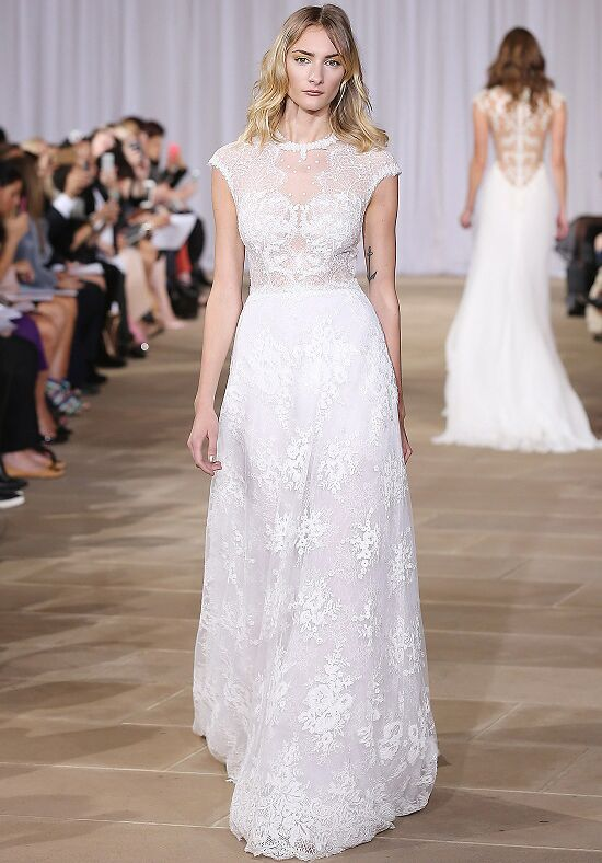Ines Di Santo Inspired A-Line Wedding Dress