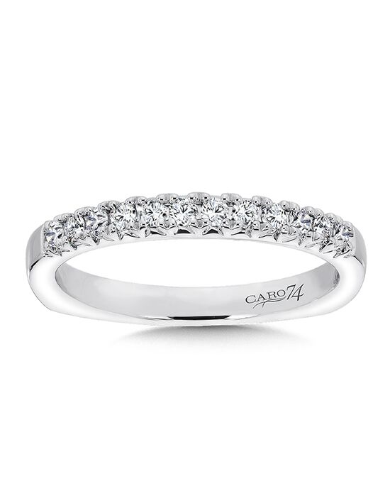 Caro 74 CR304BW White Gold Wedding Ring