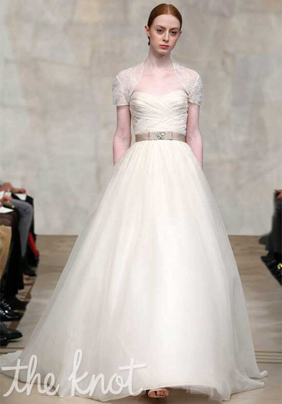Reem Acra 4223 Ball Gown Wedding Dress