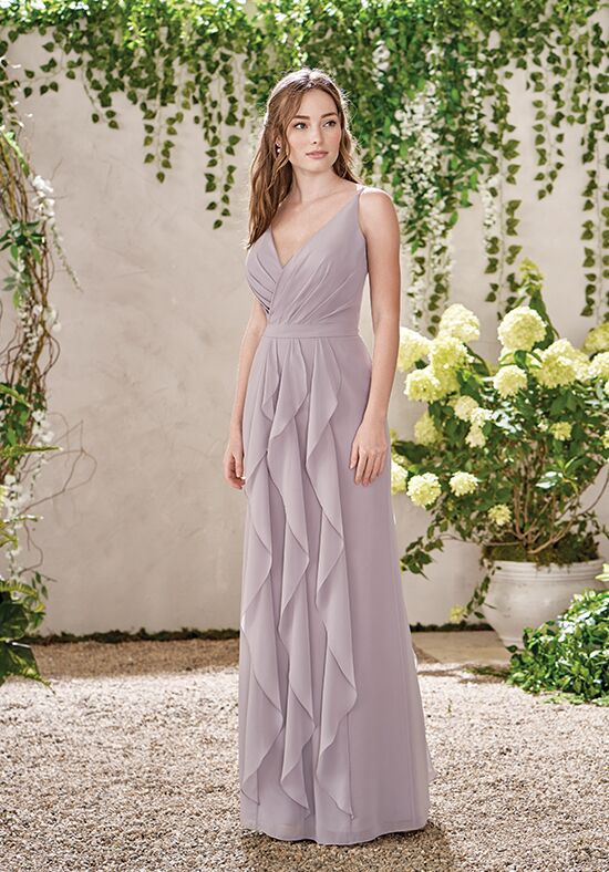 B2 by Jasmine B193015 V-Neck Bridesmaid Dress