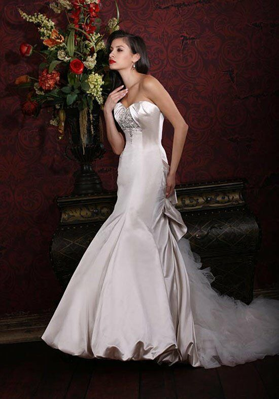Impression Bridal 10120 A-Line, Mermaid Wedding Dress