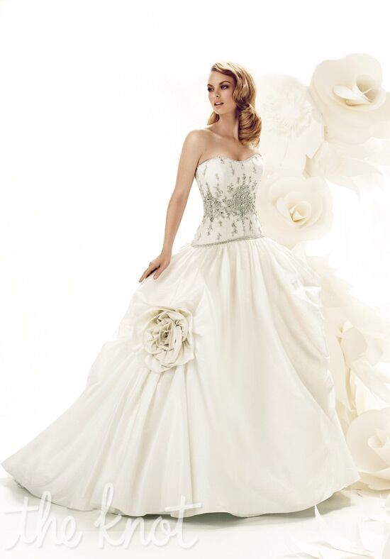 Simone Carvalli 7208 Ball Gown Wedding Dress