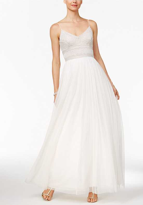 Adrianna Papell Wedding Dresses Adrianna Papell Beaded A-Line Gown- Bateau A-Line Wedding Dress