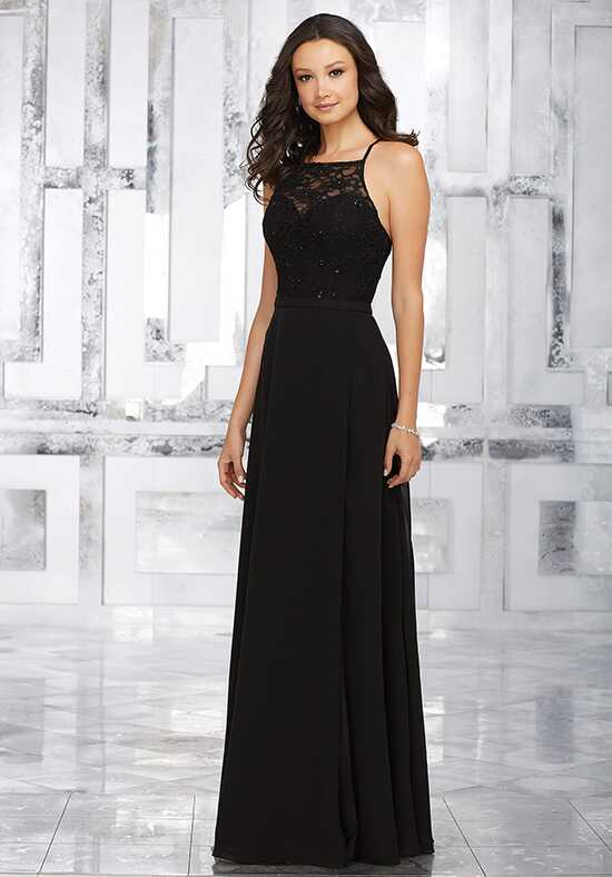 Morilee by Madeline Gardner Bridesmaids Style 21542 Halter Bridesmaid Dress