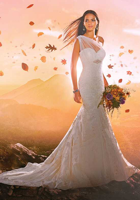 Alfred Angelo Disney Fairy Tale Weddings Bridal Collection 277 Mermaid Wedding Dress