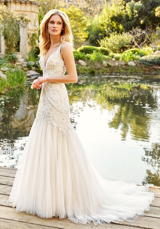 Moonlight Couture H1359 Mermaid Wedding Dress