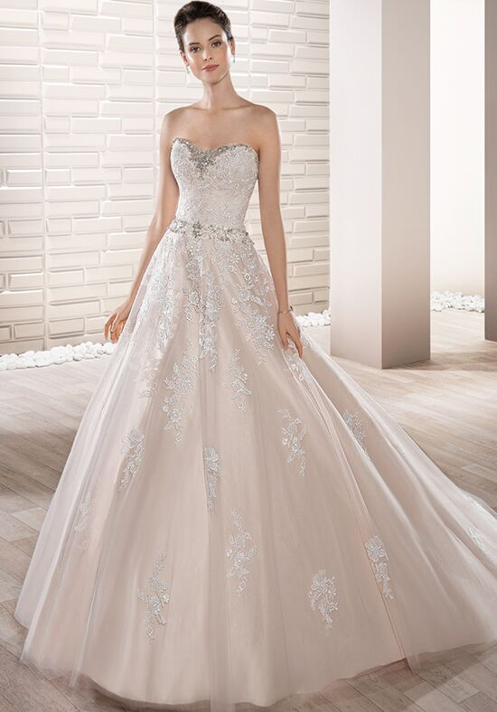 Demetrios 686 Ball Gown Wedding Dress