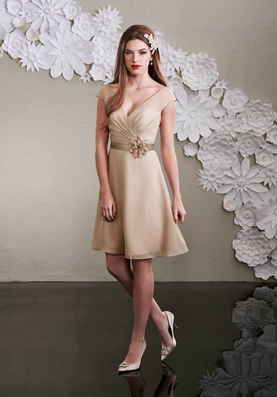 1 Wedding by Mary's Modern Maids M1984 V-Neck Bridesmaid Dress