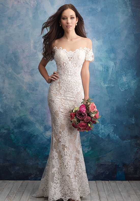 Allure Bridals 9569 Sheath Wedding Dress