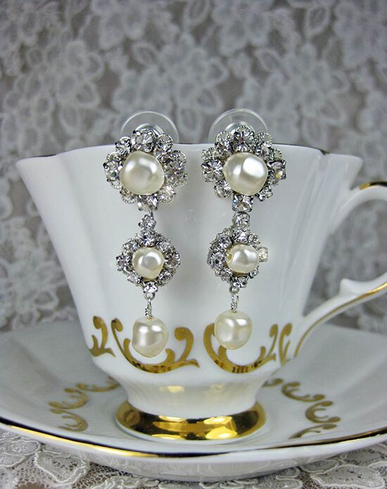 Everything Angelic Angela Chandelier Earrings - e344 Wedding Earring photo