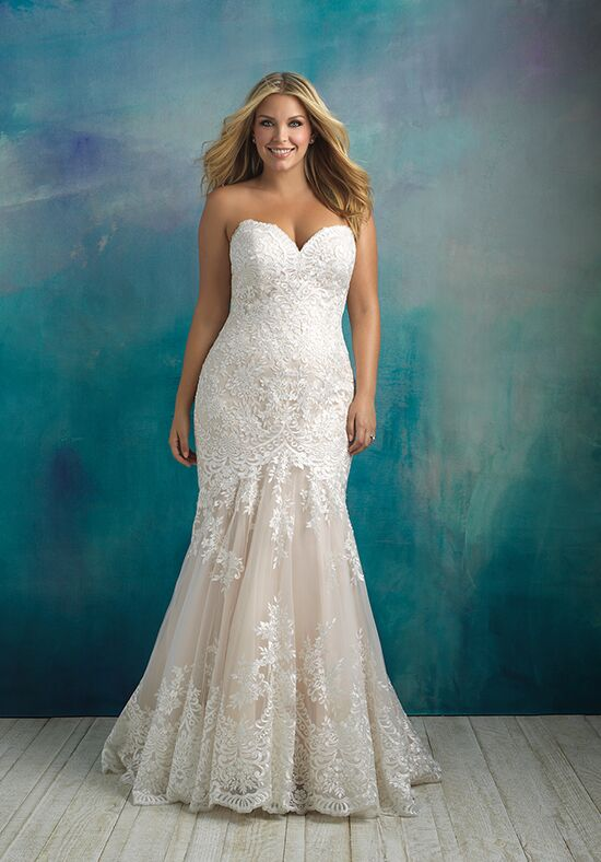 Allure Bridals W410 Mermaid Wedding Dress