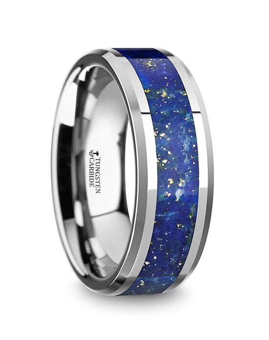 Mens Tungsten Wedding Bands W5723-TCGO Tungsten Wedding Ring
