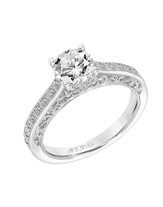 ArtCarved 31-V810ERW Engagement Ring photo
