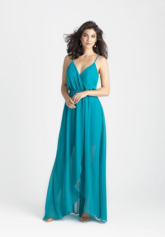 Allure Bridesmaids 1500 V-Neck Bridesmaid Dress