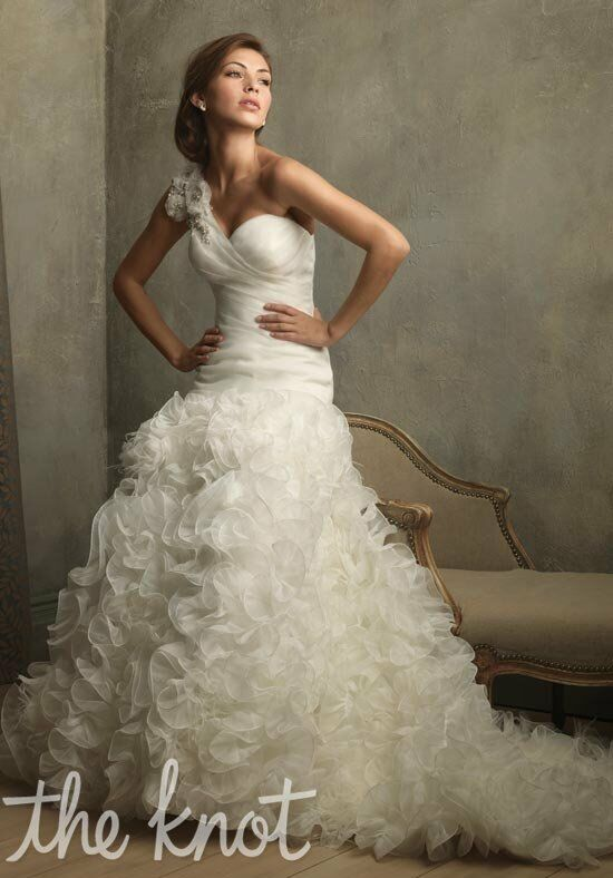 Allure Couture C166 A-Line, Ball Gown Wedding Dress