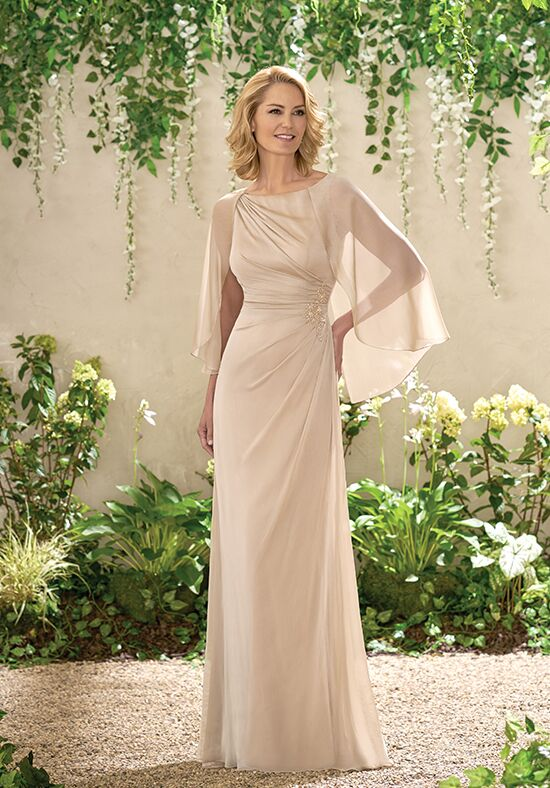 Jade J195002 Champagne Mother Of The Bride Dress