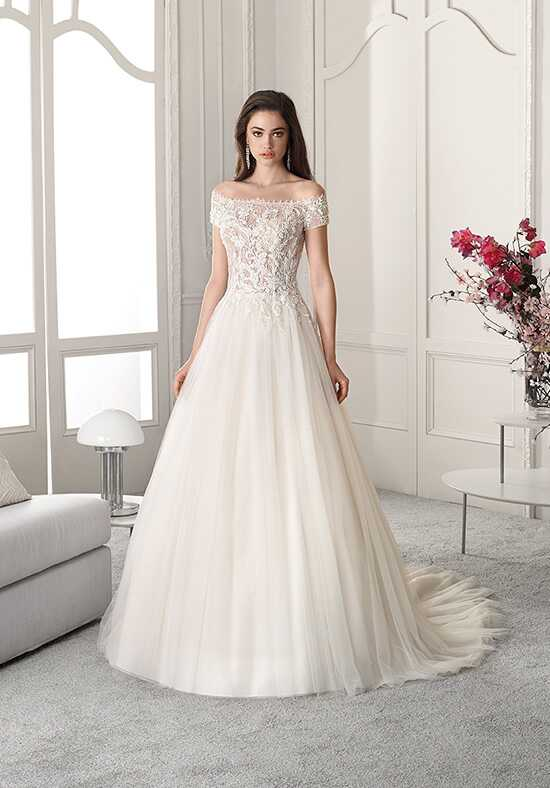 Demetrios 821 A-Line Wedding Dress