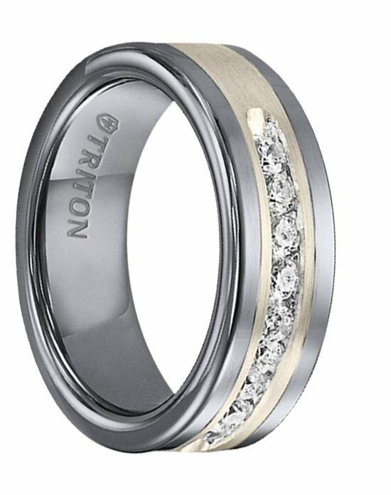 larson jewelers reginald flat tungsten carbide wedding