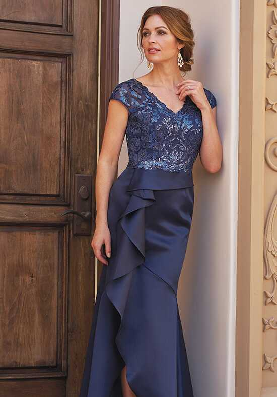 Jade Couture K208057 Blue Mother Of The Bride Dress