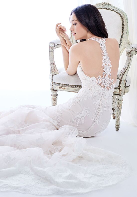 Kenneth Winston: Ella Rosa Collection BE416 A-Line Wedding Dress