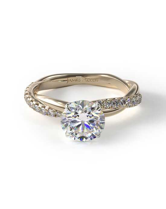 James Allen Elegant Pear, Round, Oval Cut Engagement Ring