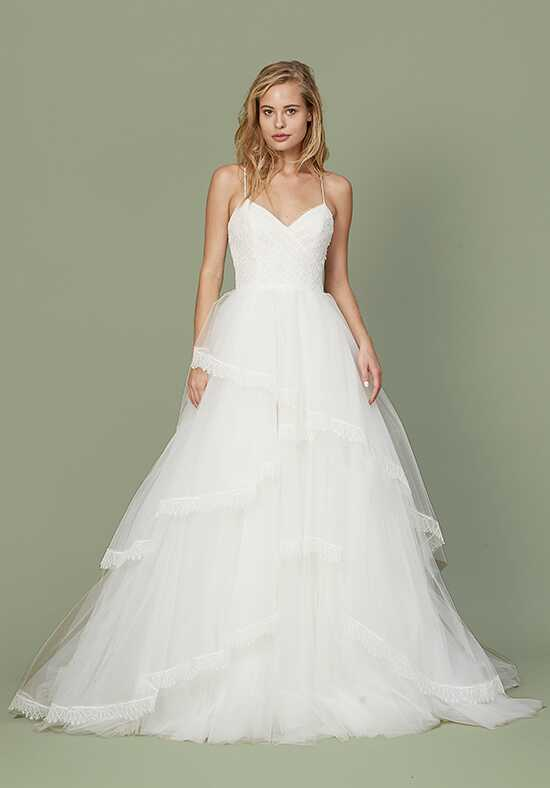 Christos Bea Ball Gown Wedding Dress