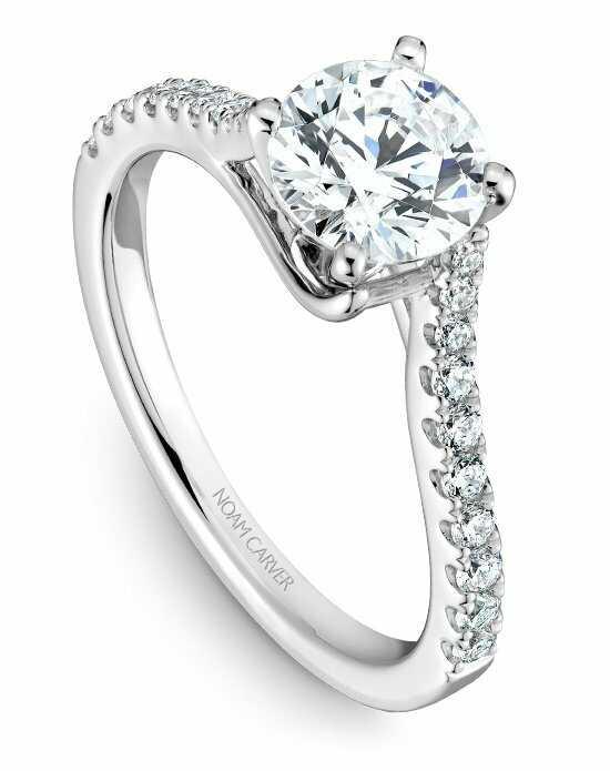 Round engagement rings noam carver junglespirit Gallery