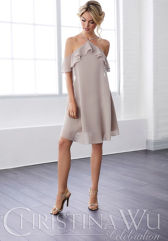 Christina Wu 22806 Halter Bridesmaid Dress