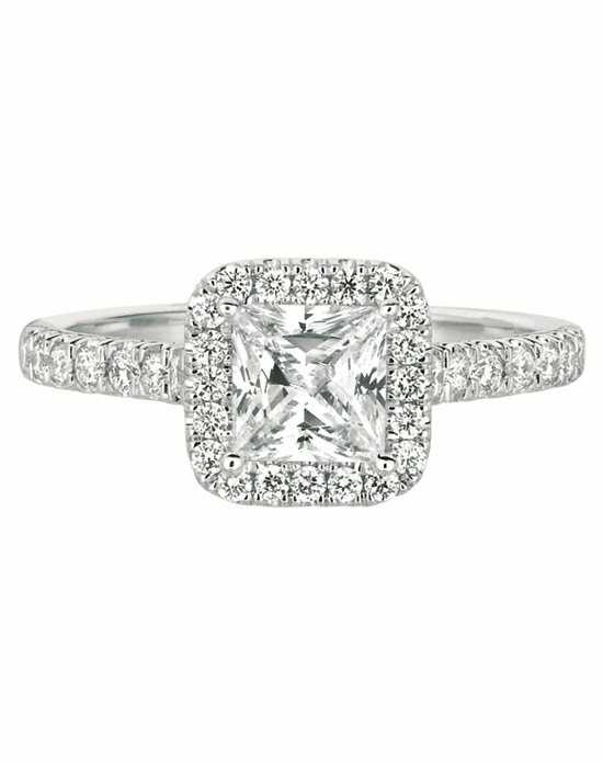 FlyerFit by Martin Flyer Asscher Cut Engagement Ring