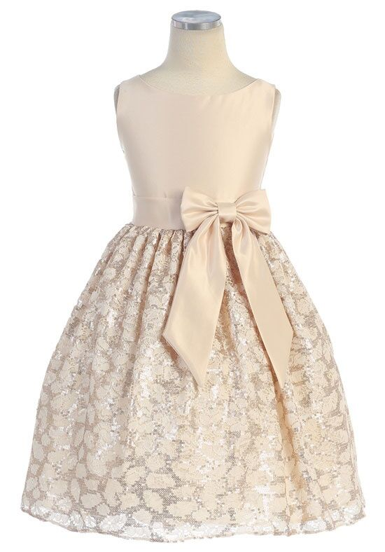 Kids Formal 403 Flower Girl Dress - The Knot