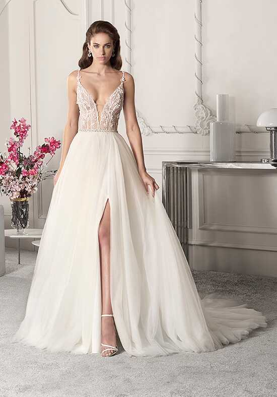 Demetrios 848 A-Line Wedding Dress