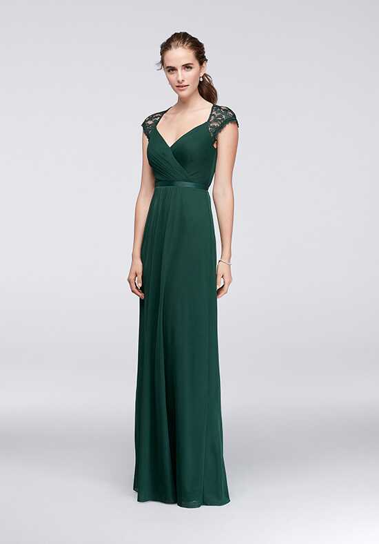 David's Bridal Collection David's Bridal Style F19505 V-Neck Bridesmaid Dress