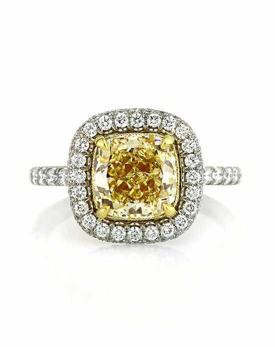 Mark Broumand Glamorous Cushion Cut Engagement Ring