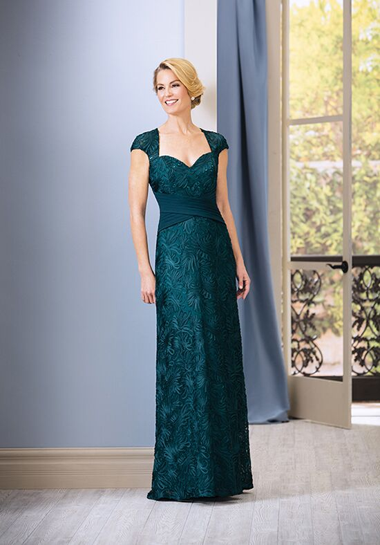 Jade J185068 Green Mother Of The Bride Dress