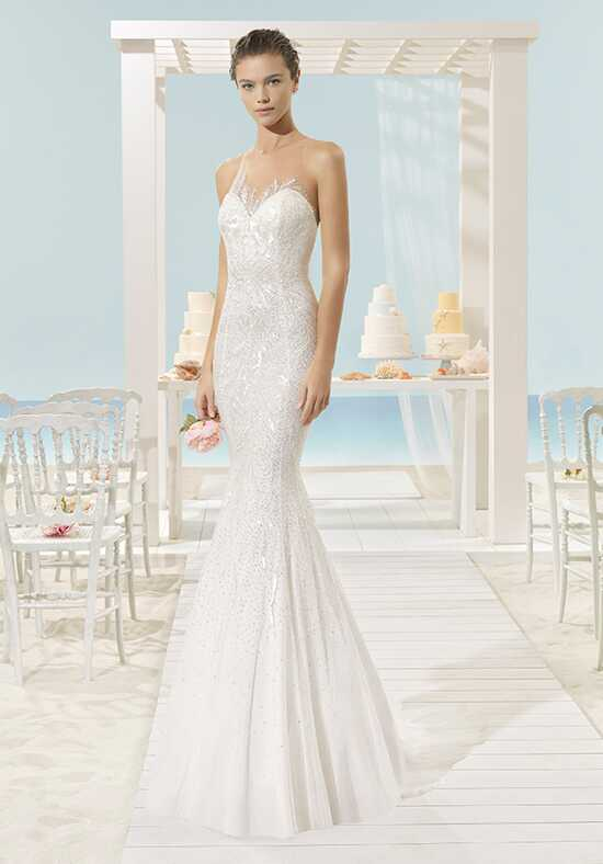 Aire Beach Wedding Xalap Mermaid Wedding Dress