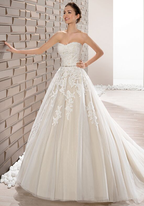 Demetrios 662 Ball Gown Wedding Dress