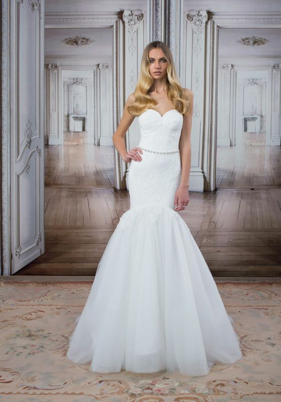 LOVE by Pnina Tornai for Kleinfeld 14493 Mermaid Wedding Dress