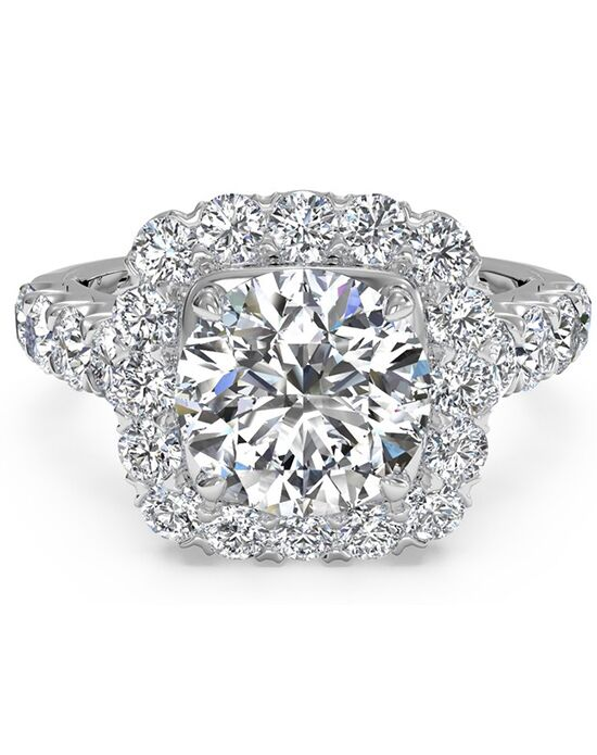 Ritani Glamorous Round Cut Engagement Ring