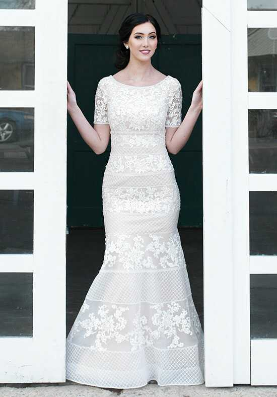 Modest by Mon Cheri TR21856 Mermaid Wedding Dress