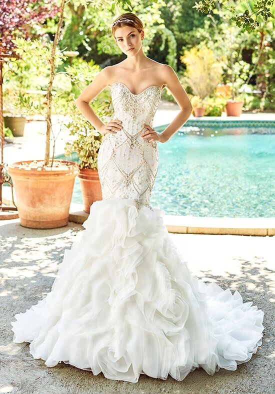 Val Stefani Copeland Mermaid Wedding Dress