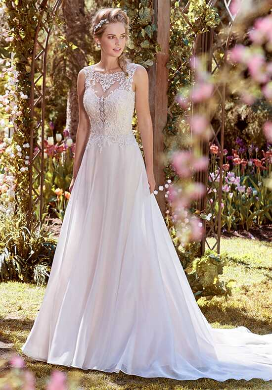 Rebecca Ingram Joyce A-Line Wedding Dress