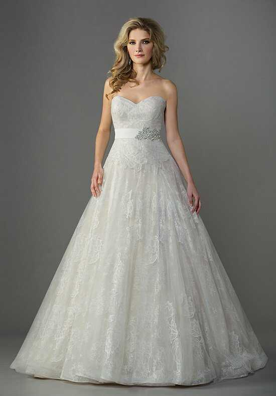 Jasmine Collection F161066 Ball Gown Wedding Dress