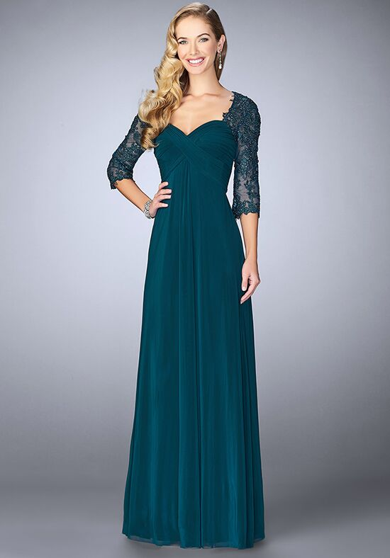 La Femme Evening 23141 Green Mother Of The Bride Dress