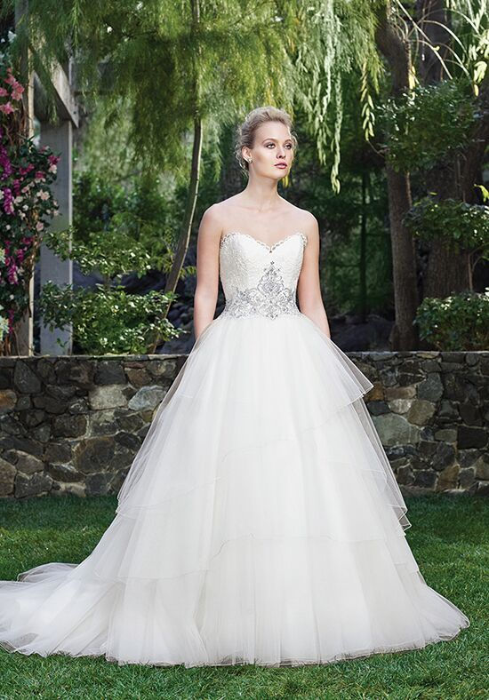 Casablanca Bridal 2259 Calla Lily Ball Gown Wedding Dress